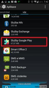 Služby Google Play