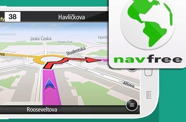 NavFree: offline navigace pro Android zdarma nejen pro cesty na dovolenou
