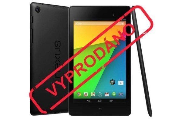 Tablety Nexus 7 a Nexus 10 vyprodány. Dočkáme se brzy nástupců?
