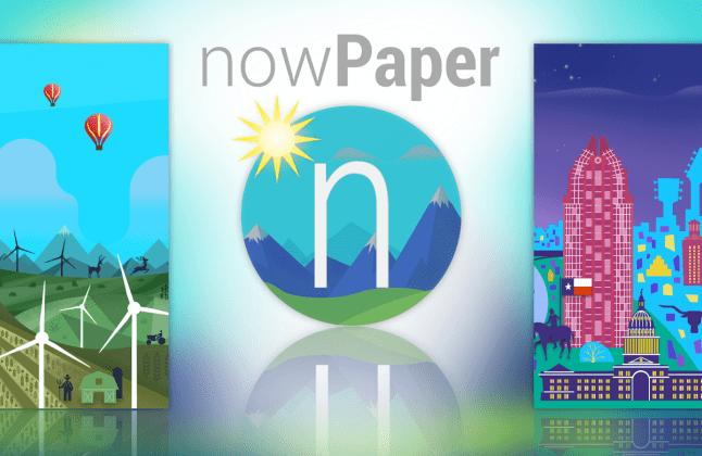 nowPaper banner
