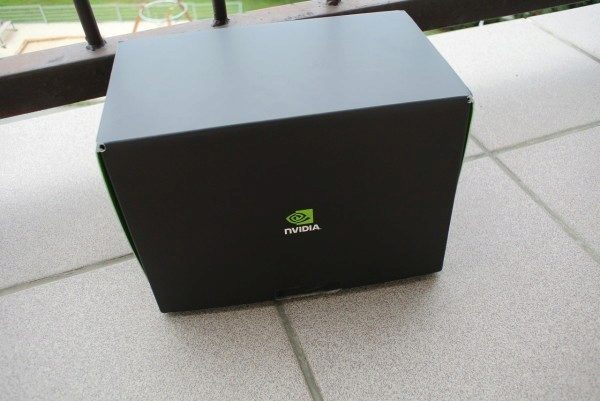 Nvidia Shield Tablet recenze - black box