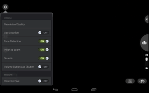 Nvidia Shield Tablet recenze - fotoaparát 1
