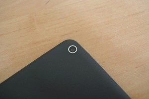 Nvidia Shield Tablet recenze - fotoaparát detail