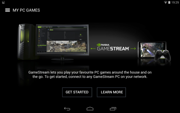 Nvidia Shield Tablet recenze - Game Stream