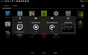 Nvidia Shield Tablet recenze - nahravání 1
