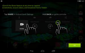 Nvidia Shield Tablet recenze - nahrávání