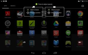 Nvidia Shield Tablet recenze - nahrávání nastavení