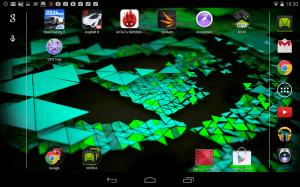 Nvidia Shield Tablet recenze - plocha