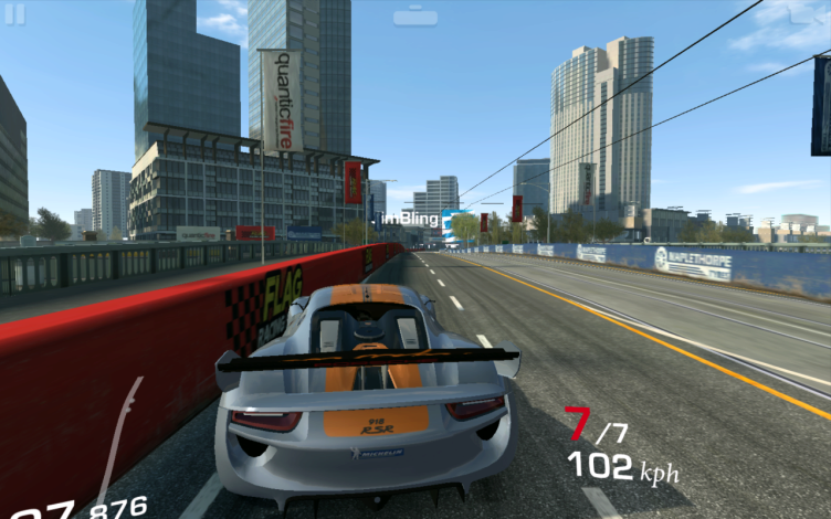 Nvidia Shield Tablet recenze - Real Racing