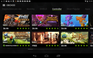 Nvidia Shield Tablet recenze - ShieldHub 1