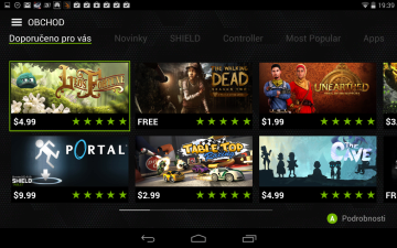 Nvidia Shield Tablet recenze - ShieldHub