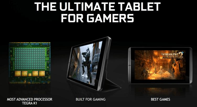 Nvidia Tablet Shield - vnitřnosti