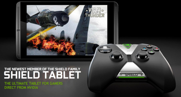 Nvidia Tablet Shield - War Thunder
