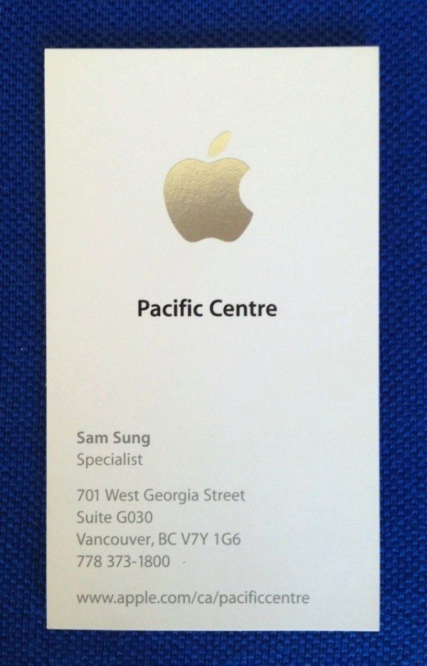 sam sung apple specialist