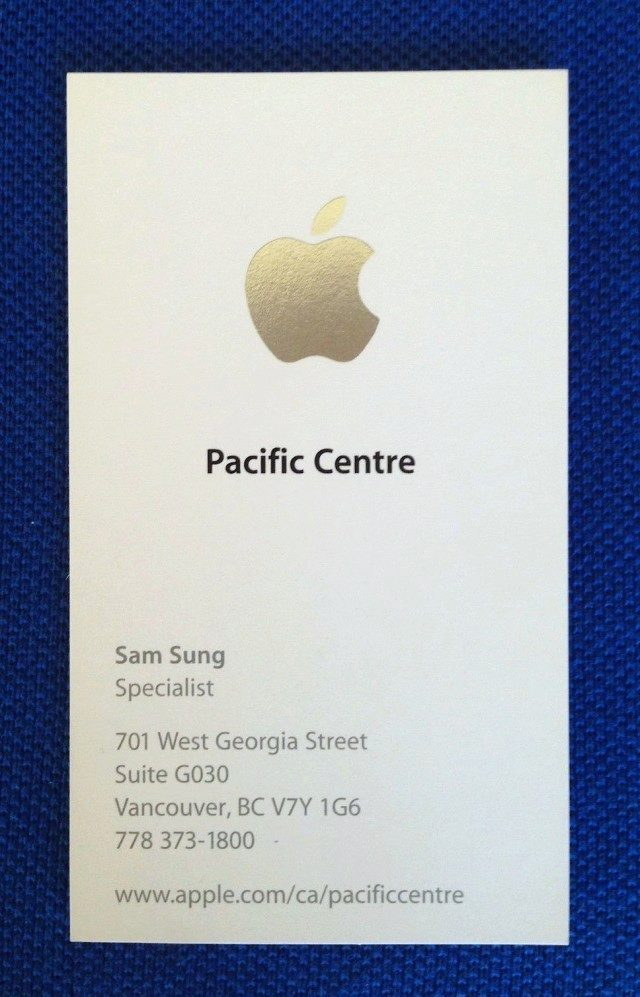 sam sung apple specialist
