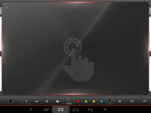Smart Center - telefon %E8i tablet jako dotykov%E1 plocha pro ovl%E1d%E1n%ED kurzoru v TV