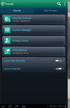 Antivirový program TrustGo