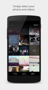 Jednoduchý výběr obrázků a fotek