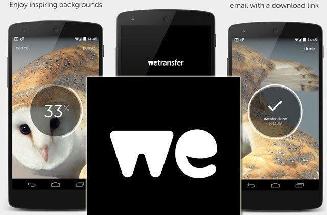 WeTransfer: sdílejte a posílejte až 10GB soubory zdarma a bez registrace