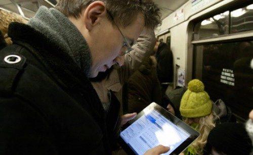 V Moskvě mají ve vlacích metra Wi-Fi