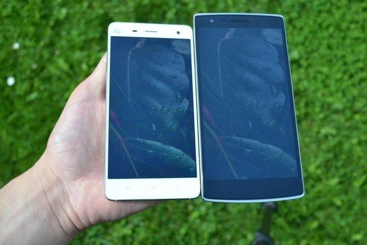 Xiaomi Mi4 vs OnePlus One - čitelnost (2)