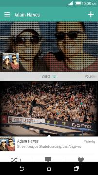 Aplikace HTC Zoe