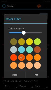 zvolení barev