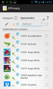 Ochranu soukromí nabídne aplikace XPrivacy