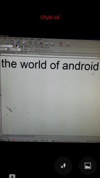 Překlad nasnímaného textu jen v režimu online