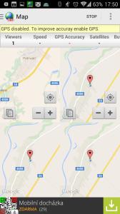 Zobrazení více nezávislých map