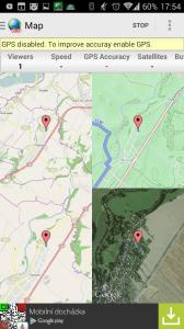 Různé mapové podklady