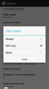 Používání dat