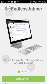 Příjem a odesílání SMS z jakéhokoli prohlížeče