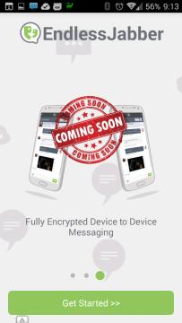 Připravované šifrované zprávy z jednoho zařízení do druhého