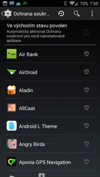Ochrana soukromí v ROMce CyanogenMod