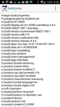 Build.prop Editor