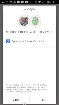Propojení s fotkami na Google+