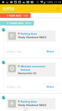Vzpomínky na dění před dvěma lety