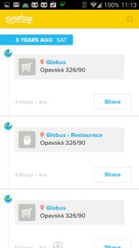 Vzpomínky na dění před třemi lety