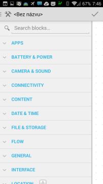 Ze sekce Apps