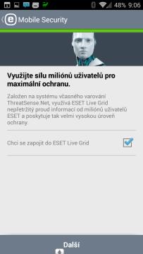Zapojení do ESET Live Grid