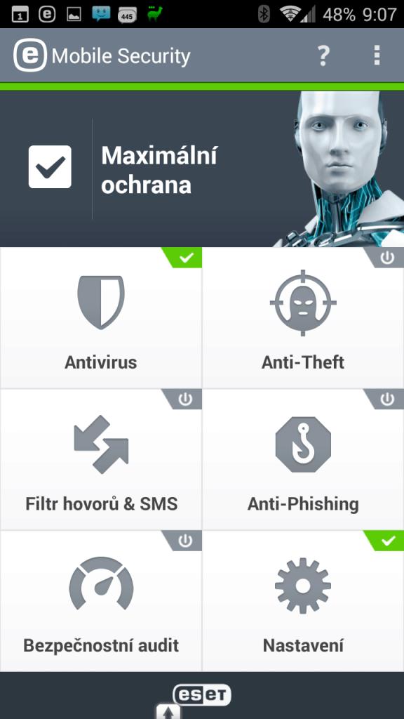 Uživatelské prostředí aplikace