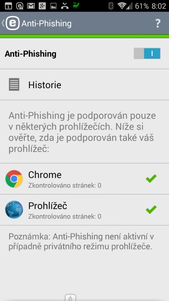Anti-Phishing - na web jedině s ochranou