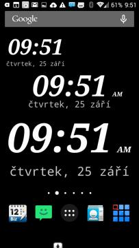 Widgety DIGI Clock Widget