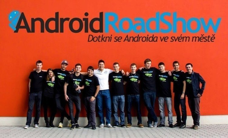 Android RoadShow crew