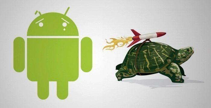 Možné příčiny pomalého Androidu