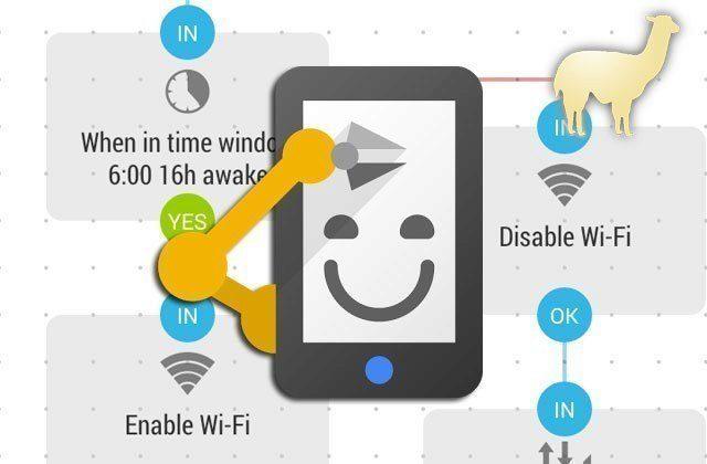 Automatizace telefonu s novou aplikací Automate od LlamaLab
