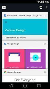 Prohlížeč Chrome ve verzi 37