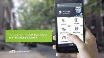 Vyzkoušejte nejnovější verzi ESET Mobile Security