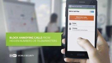 Blokování nežádoucích hovorů